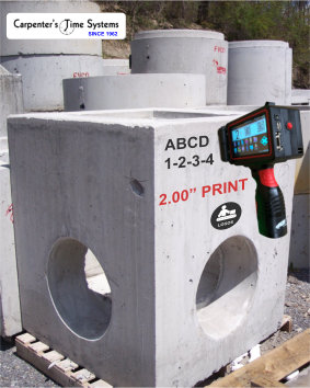 Handheld Printing for Precast Concrete