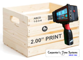 Handheld Inkjet Printer for Wooden Crates