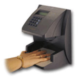 HP3000 Hand Geometry Biometric Time Clock